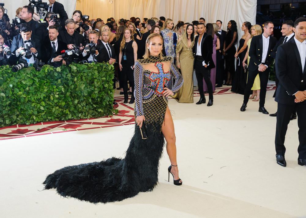Jennifer Lopez (J-Lo) attends the 2018 Met Gala