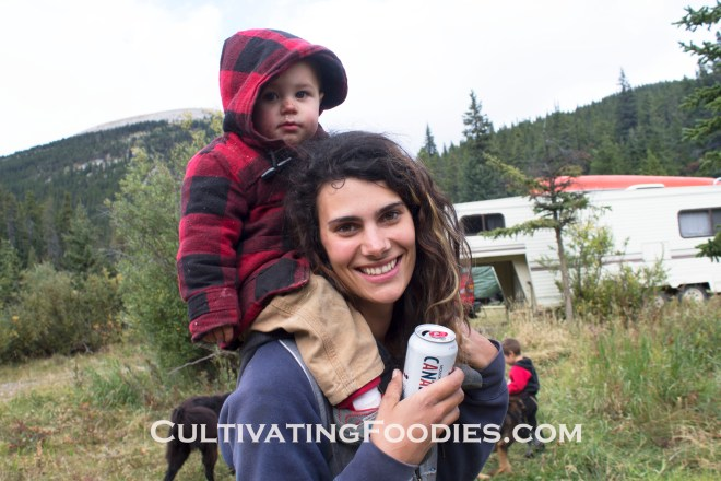Tante Lexi and little chef #cultivatingfoodies