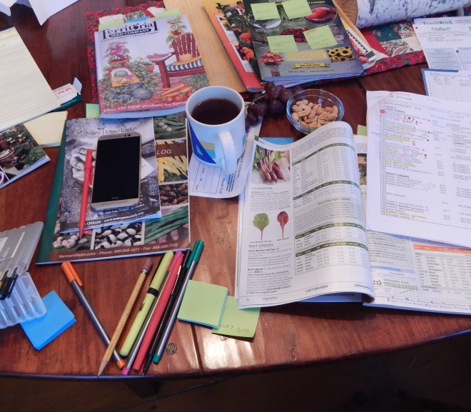 It's Seed Catalog Time