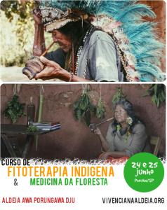 Curso de Fitoterapia Indígena e Medicina da Floresta @ Aldeia Awa Porungawa Dju - Peruíbe/SP