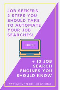 job seekers - job search engines