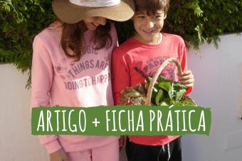 Cultivar com crianças – 7 dicas para motivá-las!