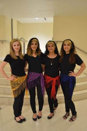 Dabke dancers
