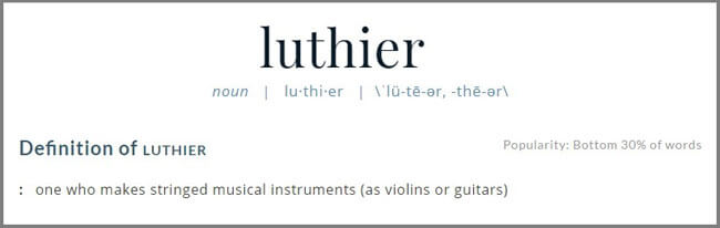 luthier-definition