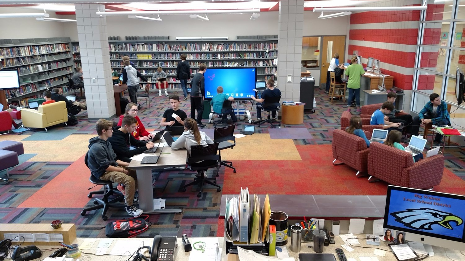 How A School Library Increased Student Use By 1,000