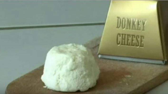 Pule cheese from Serbia