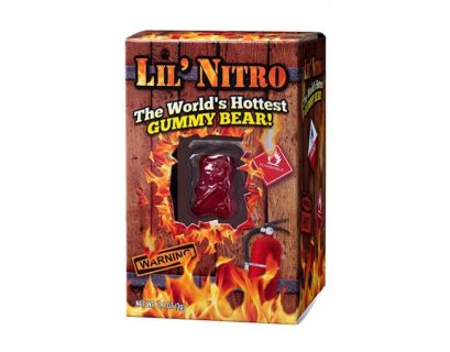 Lil' Nitro is the world's hottest gummy bear