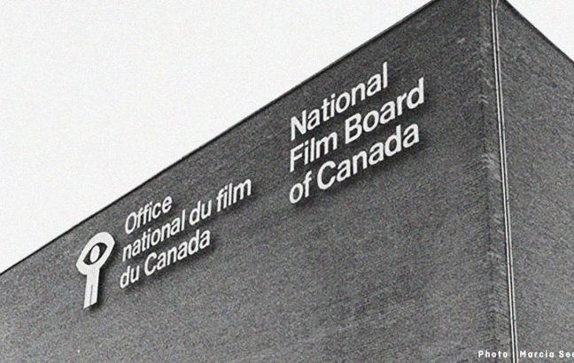 Old National Film Board of Canada logo