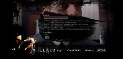 Willard Menu Setup