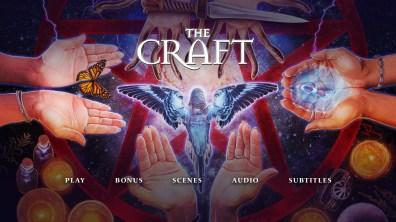 The Craft menu