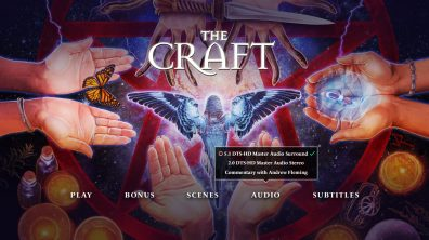 The Craft menu audio