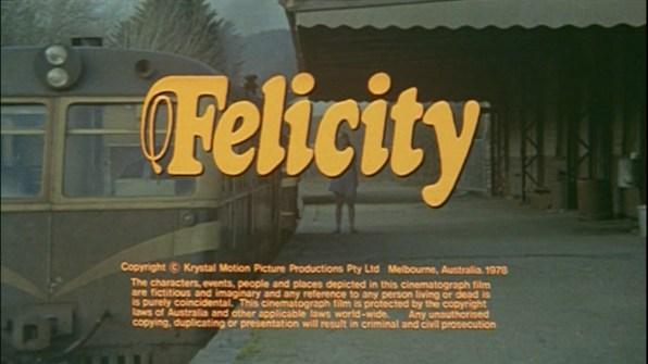 Felicity Trailer