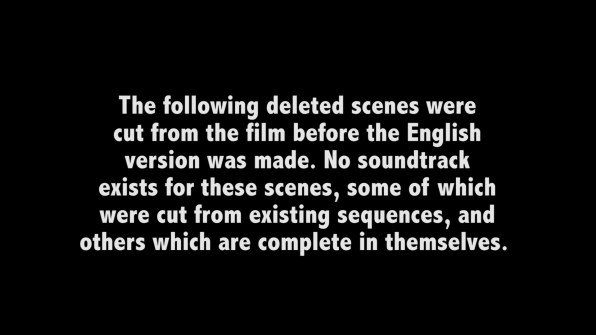 Curse of the Vampires deleted scenes 1