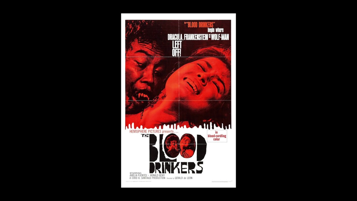The Blood Drinkers radio spot