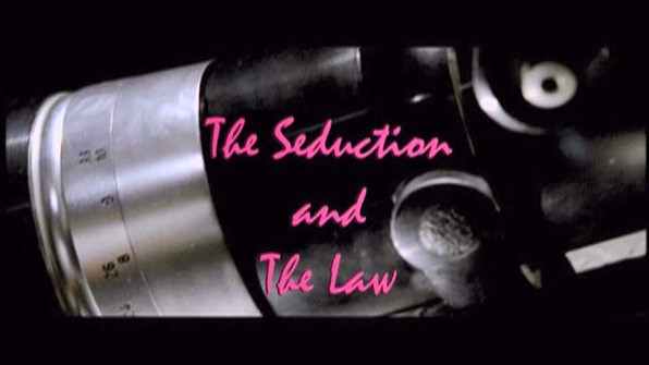 The Seduction The Seduction and the Law 1