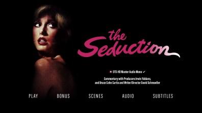 The Seduction audio menu