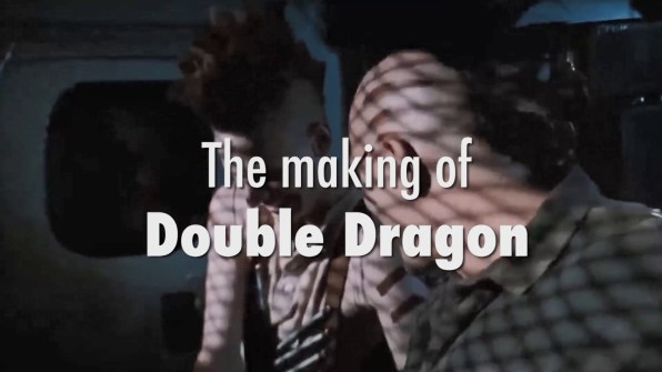 Double Dragon Making of Double Dragon feature 1