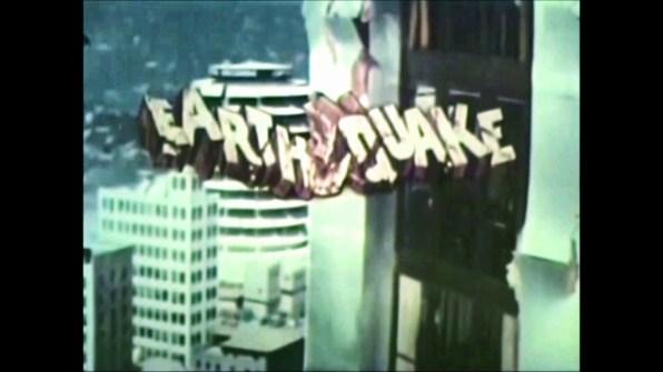Earthquake TV spot 1