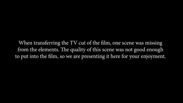 Earthquake TV deleted scene 1 cap 1