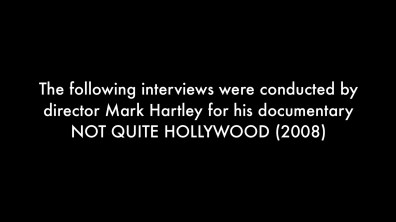 Next of Kin Not Quite Hollywood additional interviews 1