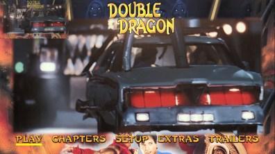 Double Dragon Blu-ray menu