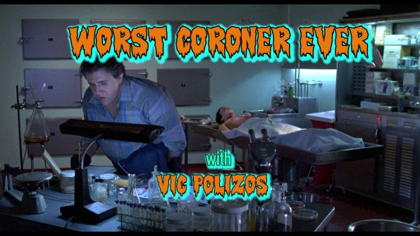 Night of the Creeps Vic Polizos interview 1