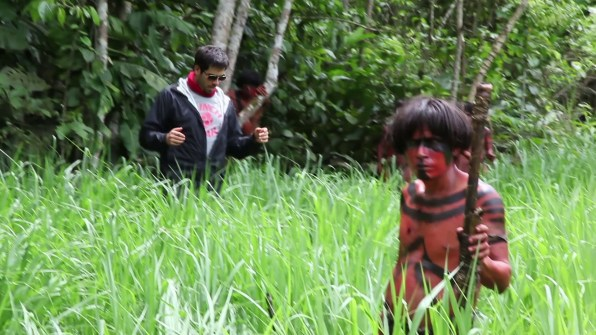 The Green Inferno behind the scenes 1