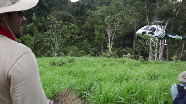 The Green Inferno behind the scenes 2