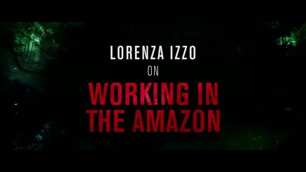 The Green Inferno Lorenza Izzo interview 1