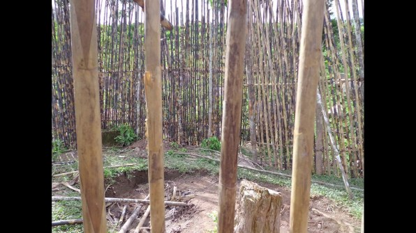 The Green Inferno village construction gallery 1