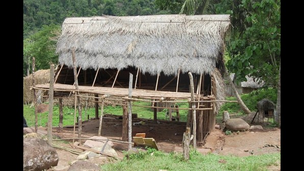 The Green Inferno village construction gallery 2