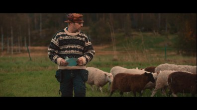 Deleted Scene: Tractor and Sheep