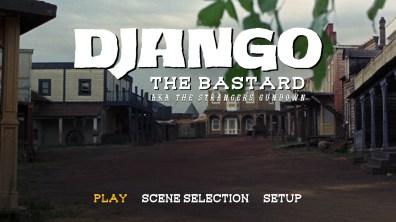 Django the Bastard Blu-ray menu