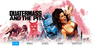 Quatermass and the Pit Blu-ray menu