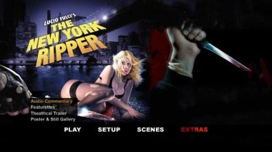 The New York Ripper extras menu 1