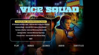 Vice Squad extras menu 1