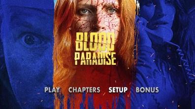 Blood Paradise Menu