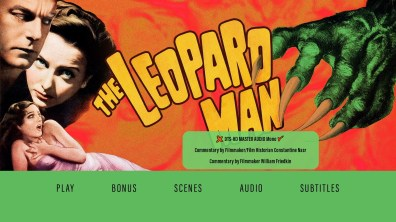The Leopard Man Audio Menu