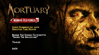 Mortuary Special Features