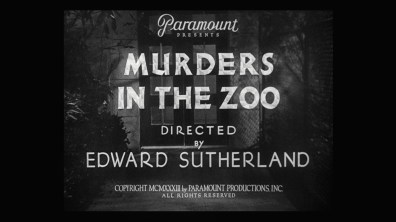 Murders in the Zoo cap 1