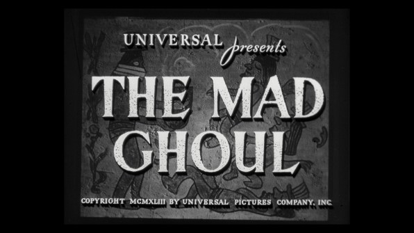 The Mad Ghoul cap 1