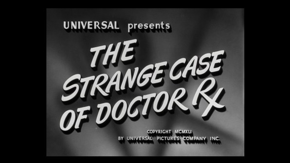 The Strange Case of Doctor Rx cap 1