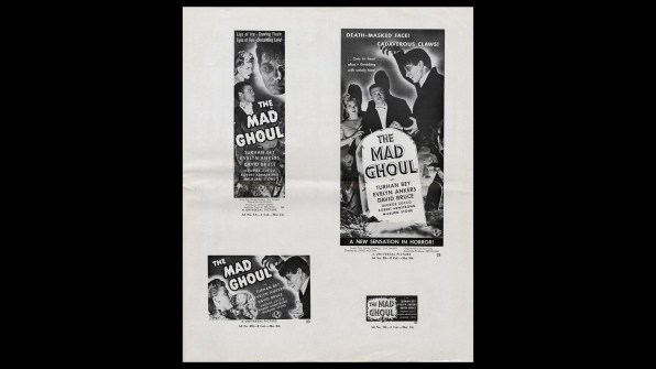 The Mad Ghoul promo kit 2