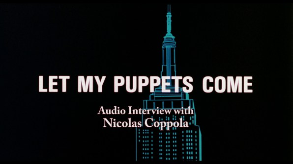 Let My Puppets Come Nicolas Coppola audio interview