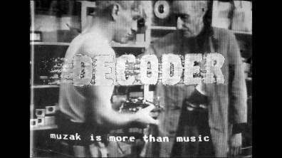Decoder Klaus Maeck archival audio interview 1