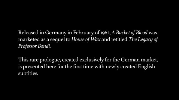 Prologue from German Release