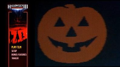 Halloween III: Season of the Witch Steelbook Blu-ray Menu