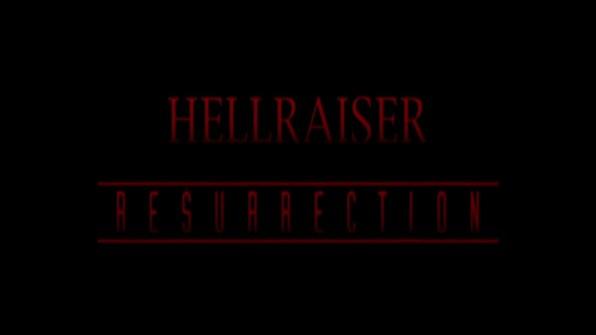 Hellraiser Hellraiser: Resurrection cap 1