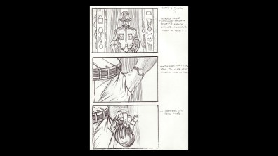 Hellbound: Hellraiser II storyboard gallery 1