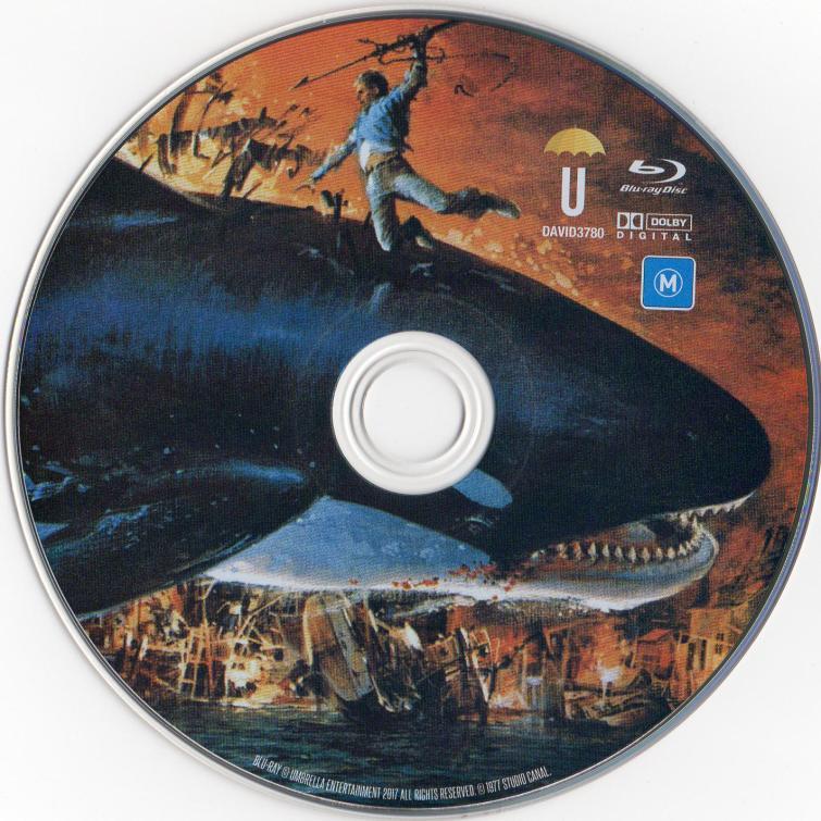 Orca Umbrella Blu-ray Disc
